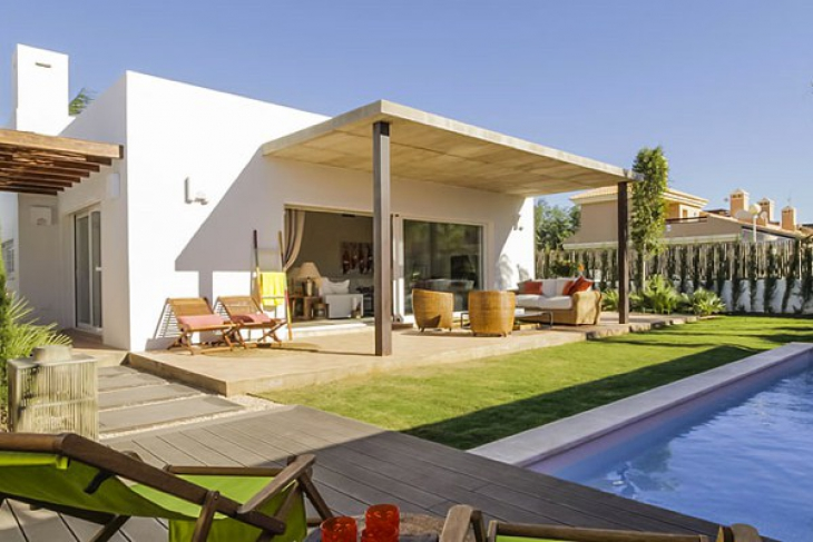 Eco-home with pool at 400m from the mar menor