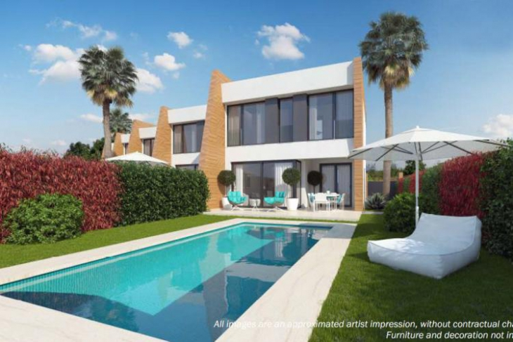 Luxury houses for sale with seaview and pool costa blanca