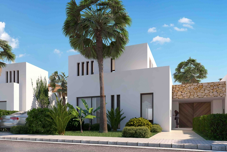 Modern first line golf villa for sale