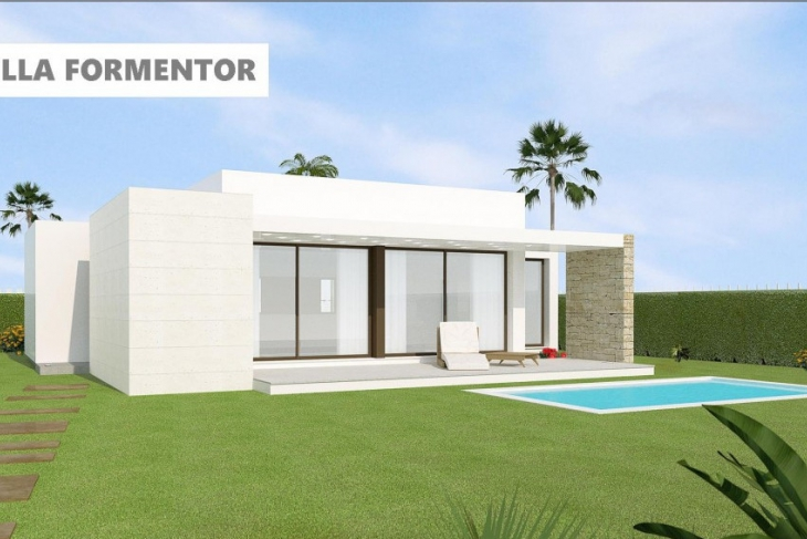 Modern groundfloor villa for sale costa blanca south