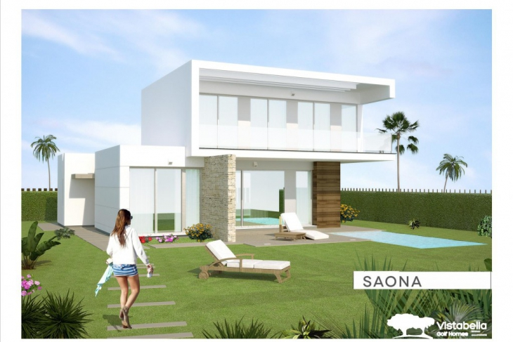 Modern villa for sale vistabella golf