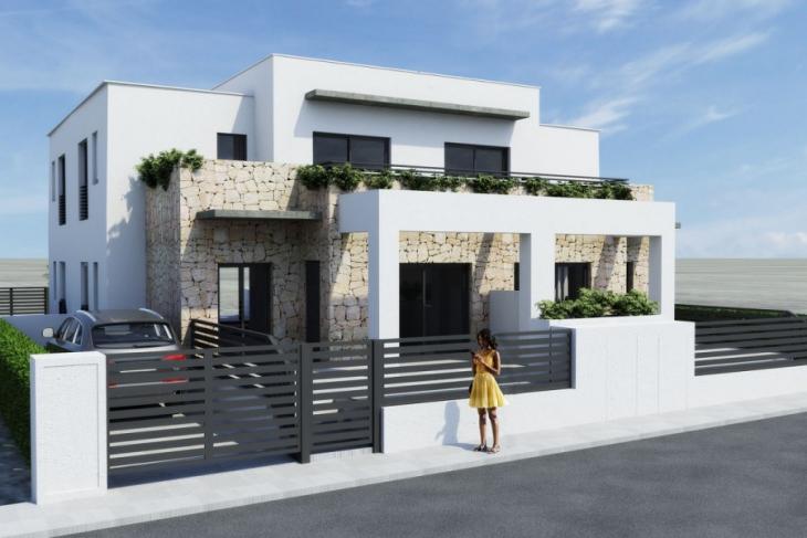 Moderne halfopen bebouwing huizen te koop aguas nuevas for Halfopen bebouwing te koop