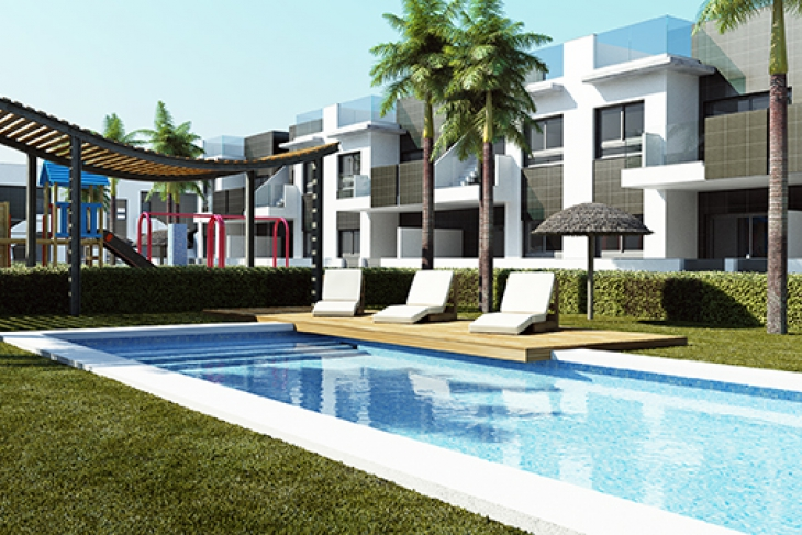 New build apartments close to the beach for sale Costa Blanca