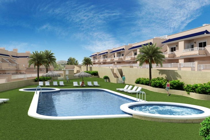 New apartments for sale in Punta prima