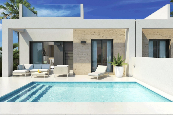 Villa on one level for sale Daya Nueva Costa Blanca